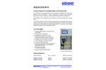 Aquacon - Model Ni-10 - Process Analyzers  Brochure