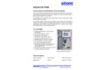 Aquacon - Model PH80 - Process Analyzers Brochure
