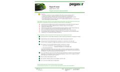 Pegasor M –Sensor - Engine Emission Measurements - Application Note