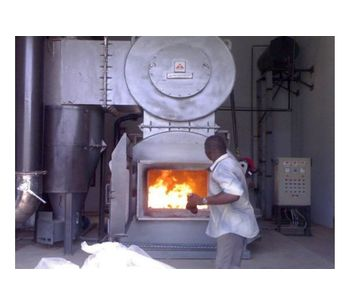 Alfa Therm - Incinerator With Cyclone Separator & Cyclonic Scrubber