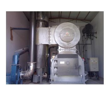 Alfa Therm - Incinerator with Inbuilt Scrubber