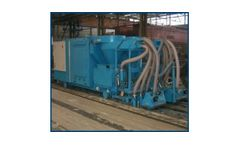 Semi-Automatic Pile-Mould Cleaning Machine