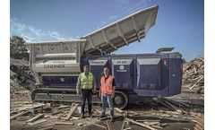 RGS Nordic Keeps Europe`s Far North Tidy with Lindner Twin-shaft Shredder Armada