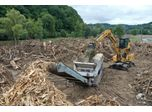 The Kockmann Company Supports Clean-up Efforts in Flooded Areas with Lindner`s Urraco 95DK Shredder