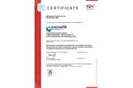 Zertificate EN ISO 9001 Brochure
