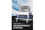 Lindner Komet 2200 HP /2800 HP Stationary Secondary Shredding - Brochure