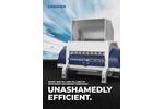 Lindner Komet - Model 1800 PK / 2200 PK / 2800 PK - Secondary Shredder System - Brochure