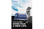 Lindner Micromat - Model 1500 | 2000 | 2500 HP - Stationary Universal Shredding Machine - Brochure