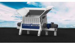 Lindner Universo - Model 2800 - Stationary Universal Shredding Machine