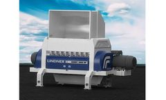 Lindner Komet - Model 2200 HP /2800 HP - Stationary Secondary Shredding