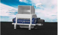 Lindner Komet - Model 2200 HP /2800 HP - Stationary Secondary Shredding