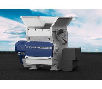 Lindner Micromat - Model 1500 / 2000 / 2500 - Stationary Universal Shredding