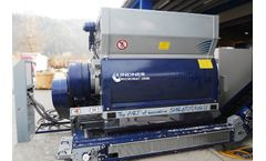Lindner Micromat - Model 1500 / 2000 / 2500 - Stationary Universal Shredding