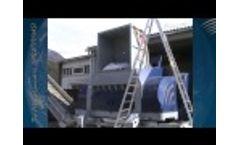Power Komet 2200 - Bales of Domestic Waste Video
