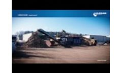 Lindner URRACO 95 DK Waste Wood - Video