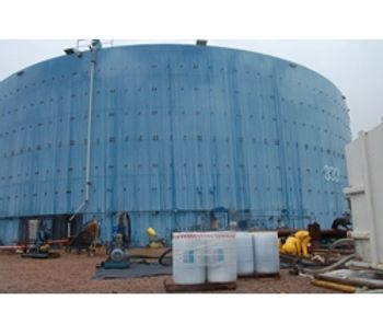 Solutions for the large tank cleaning and degassing - Water and Wastewater