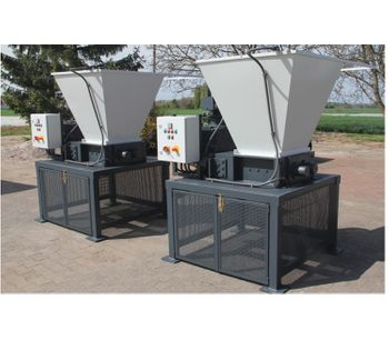 Crushing of tires, bumpers and auto parts with Mercodor crushing systems - Waste and Recycling - Recycling Systems