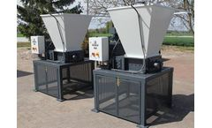 Shredding of packaging materials and packaging waste with Mercodor shredding systems