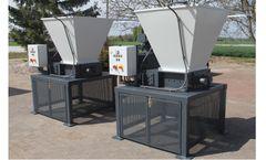 Production waste and hazardous waste shredding with Mercodor shredding systems
