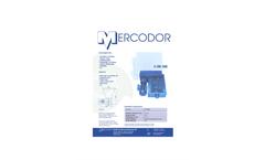 Mercodor - Type FZ 5 - Bottle Crusher - Brochure