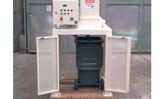 Mercodor - Model Type MZ - Waste Shredder System