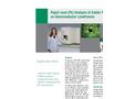 Rapid Lead (Pb) Analysis of Solder Plating on Semiconductor Leadframes (pdf) Brochure