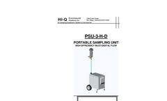 PSU-3-H-D Portable Sampling Unit - Brochure