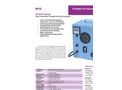 Timer Controlled, Portable HI-Vol Air Sampler - Brochure
