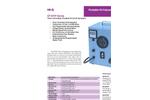 Timer Controlled, Portable HI-Vol Air Sampler - Brochure