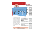 CMP-Series Cabinet Mounted Pump Air Samplers - Brochure