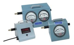 HI-Q - Model AFC-XX-Series - Analog & Digital Style Low & Medium Volume Air Flow Calibrators
