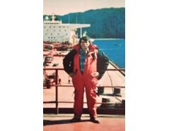 The founder of GMS, Jack Gallagher, onboard the M/T Exxon Valdez in Alaska. This incident led to the formation of OPA '90.