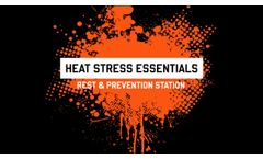 How to Build a Heat Stress Rest & Prevention Station to Keep Workers Safe - Video
