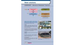 Keppel Seghers Unibrane - Membrane Bioreactor (MBR)Brochure