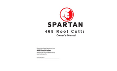 Spartan - 468 - Root Cutter - Manual
