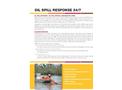 Oil Spill- Brochure