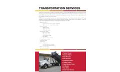 Transportation- Brochure
