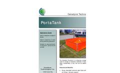 Canadyne PortaTanks - Temporary Storage Tank Brochure