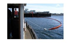 Canadyne FenceBoom - Model Fence-Type - Solid Buoyancy, Boom for Spill Containment and Recovery Operation