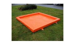 Canadyne DripTray - Used for Containing Spilled Oils From Leaking Equipment