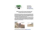 OSEI storage tank clean up information