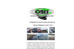 OSE II shoreline clean up Philippines Estancia