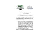 Marine Toxicity tests, 35 test on OSE II