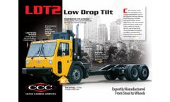 Crane-Carrier - Model LDT2 - Low Drop Tilt Signature Chassis - Brochure