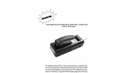Portable Mercury Vapor Analyzers Brochure