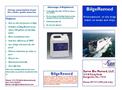 BilgeRemed - Pretreatment of Oily Bilge Water on boats & Ships Brochure