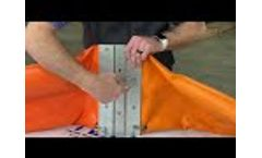 Oil Spill Containment Boom Connector Demonstration - Video