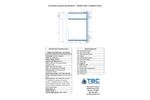 Standard Type II Turbidity Curtain - Specification Sheet