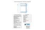 Heavy Duty Type II Turbidity Curtain - Specification Sheet