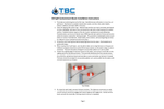 Oil Spill Containment Boom - Installation Instructions